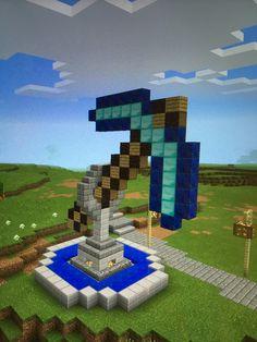 Minecraft Statue Designs And How To Make One Minecraft - Minecraft wikinger hauser