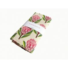 Pretty Proteas Tea Towel | Buy Online in South Africa | MzansiStore.com