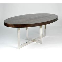 oval dining table - XO