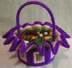 Easter basket/candy dish