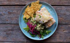 Tacosalat med kylling - Kvardagsmat Nachos, Mexican, Ethnic Recipes, Food, Essen, Meals, Tortilla Chips, Yemek, Mexicans