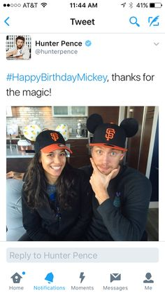 Hunter Pence, Thankful, In This Moment