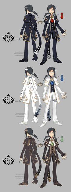 Dragon nest priest assassin by ZiyoLing