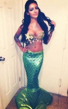 Mermaid #HalloweenCostume