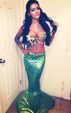 Mermaid #HalloweenCostume