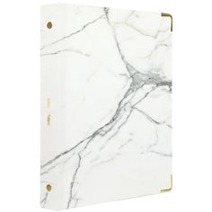 Russell & Hazel Mini Three Ring Binder, Marble ($10) ❤ liked on Polyvore featuring home, home decor, office accessories, office, dry erase, mini dry erase erasers and mini ring binder