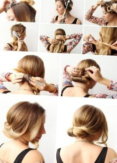 Flechtfrisuren Selber Machen Mittellanges Haar Einfache Frisuren