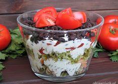 Sałatka król stołu - Obżarciuch Acai Bowl, Salads, Food And Drink, Pudding, Breakfast, Desserts, Recipes, Kitchen, Blog