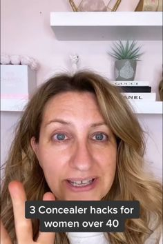 Help get the most out of your concealer with these tips Best Foundation, Natural Makeup, Concealer, Makeup Ideas, Makeup Looks, Eye Makeup, Eyeshadow, Tutorials, Hacks