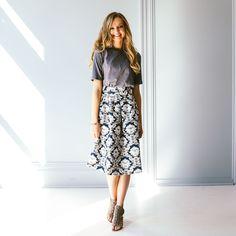 Brentford Pleated Skirt