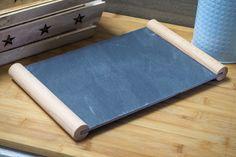 Taca do serwowania łupek 32x20 cm - Tace