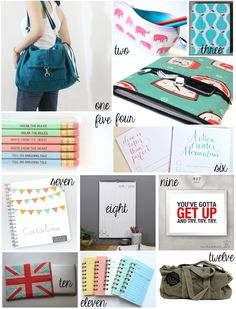 Going Back to School & Handmade College Supplies