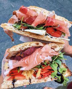 Italian Food Culture - Useful Articles I Love Food, Good Food, Yummy Food, Florence Food, Florence Italy, Healthy Italian Recipes, Italian Foods, Sandwiches, Aesthetic Food