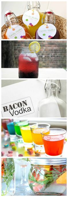 9 Surprising Ways to Infuse Vodka #HowTo #booze
