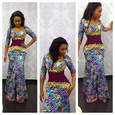 If you are dressing to make an impression, our latest ankara collection beautifully executed the trends of the season…