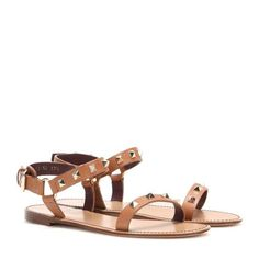 Rockstud leather sandals $845 #SplurgeOrSteal?