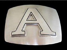 A LETTER INITIAL ANNE ARNOLD NAME MONOGRAM CHARM BUCKLE BOUCLE DE CEINTURE BELTS #letterA #initialA #alphabet #letterAbuckle #letterbuckle #letterbeltbuckle #initialbuckle #initialbeltbuckle #beltbuckle #buckles