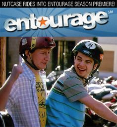 Nutcase Helmets seen on Entourage Entourage, Helmets, Captain Hat, Tv, Celebrities, Movies, Fashion, Celebs, 2016 Movies