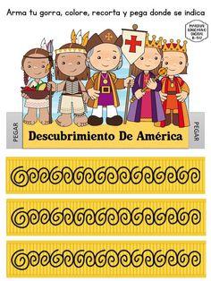 19 Ideas De Encuentro De Dos Mundos Cristobal Colon Para Niños Día De La Hispanidad Periodico Mural Octubre
