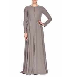 SOFT ASH ABAYA SOFT ASH ABAYA - Islamic clothing and Abayas [] - £59.99 : Inayah, Islamic clothing & fashion, abayas, jilbabs, hijabs, jalabiyas & hijab pins