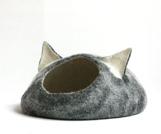 READY TO SHIP Cat bed  cat cave  cat house  by AgnesFelt on Etsy, $89.00