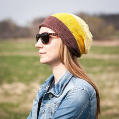 Brown Beige Yellow Striped Slouchy Beanie Hat / Cotton Knit Fall Winter Hat / One Size Autumn Colors Hat /Urban Fall Winter Accessories Etsy Christmas, Christmas Gifts, Beanie Hats For Women, Slouchy Beanie, Yellow Stripes, Winter Accessories, Brown Beige, Sell On Etsy, Winter Hats