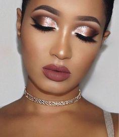 Gorgeous Makeup: Tips and Tricks With Eye Makeup and Eyeshadow – Makeup Design Ideas Glam Makeup, Neutral Makeup, Eye Makeup Tips, Makeup Ideas, Makeup Tutorials, Makeup Trends, Party Makeup, Vegas Makeup, Rose Gold Makeup
