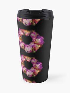'Nebula 2 Scrunchies' Travel Mug by AElenaS Transparent Stickers, Mug Designs, Sell Your Art, Scrunchies, Travel Mug, Mugs, Tumblers, Mug, Cups