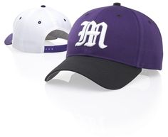 Personalized Pro Crown Poly-Cotton Hat Cotton-poly blend fabric; ProCrown shape with buckram-fused front panels; ProSweatband with twill face; pre-curved PE visor with eight rows of stitching; adjustable plastic back strap. http://www.capstoyou.com/Personalized-Pro-Crown-Poly-Cotton-Hat-p/212.htm