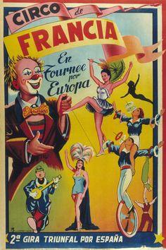 France's Circus, Anonymous, 1900-1950. Biblioteca Valenciana Digital, Bivaldi. Public Domain.