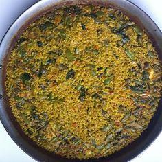 Paella de verdures (carxofa, carabassí, faves, espinacs i alls tendres) #8