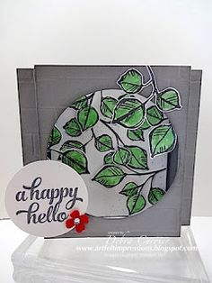 ARTfelt Impressions: CCMC Saturday Blog Hop: Shadow Box Card