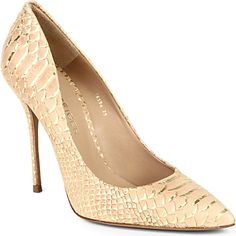 KURT GEIGER Ellen court shoes (Gold comb