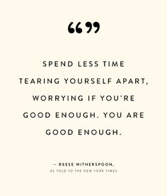An inspirational quote from Reese Witherspoon
