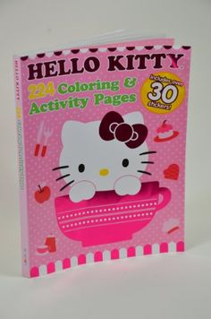 1 Random Lovely Hello Kitty Healing Kids Assorted Coloring Book Arts and Craft