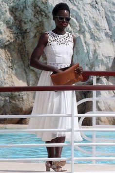 Lupita Nyong'o by OSCAR DE LA RENTA [Cannes 2015]