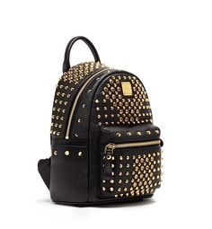 MCM DIAMOND STARK SPECIAL BLACK - MCM-2 #mcm #backpack #black #bag