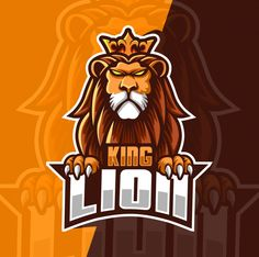 Find King Lion Mascot Esport Logo Design stock images in HD and millions of other royalty-free stock photos, illustrations and vectors in the Shutterstock collection. Thousands of new, high-quality pictures added every day. Africa Silhouette, Blue Jurassic World, Logo Dragon, Lion Head Logo, Zoo Art, Lion Vector, Lion Illustration, Game Logo Design, Crown Logo