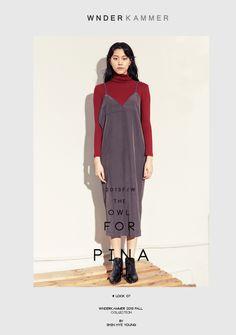 Wnderkammer_2013 fall look  www.wnderkammer.com  #wnderkammer#fall woman fashion# #2013 fall collection# #onepiece#grey onepiece