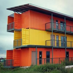Shipping Container Apartments, Encinal, TX.