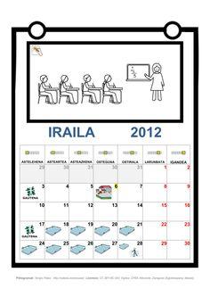 Personalización de la Agenda Escolar de ARASAAC.  http://www.catedu.es/arasaac/materiales.php?id_material=739