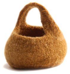 Ravelry: Felted Moebius Basket pattern by Cat Bordhi