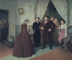 Arrival of a New Governess in a Merchant House, 1866 | In the Swan's Shadow