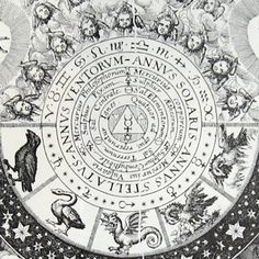 Detail from an engraving by Matthaus Merian for the Opus Medico-Chymicum. 1618.