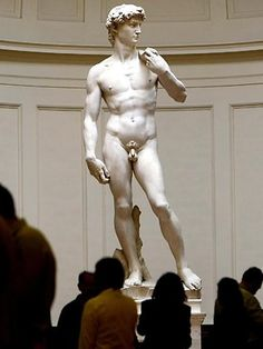 Statue of David, Michelangelo. Accademia di Belle Arti,  Florence Italy. I was stunned at the beauty of Michelangelo's Statue of David. I had no idea how it would affect me when I stood in awe within the same room. Breathtaking doesn't even begin to describe Michelangelo's magnificent creation.