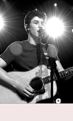 I love a boy who can sing