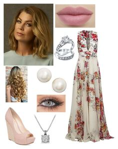 """""""Meredith Grey"""" by abs0luti0n ❤ liked on Polyvore featuring Grey's Anatomy, Zuhair Murad, Jessica Simpson, Kate Spade, David Yurman and Bling Jewelry"""