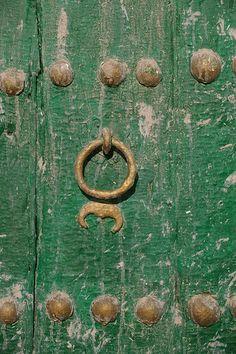 Door, Ghadames old town, Libya