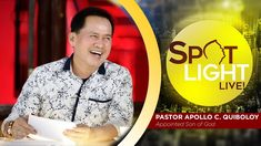 Watch another episode of Pastor Apollo C. Quiboloy's newest program, SPOTLIGHT. For your messages and queries, you can comment it down below so our Beloved P. Kingdom Of Heaven, Heaven On Earth, New Jerusalem, T Lights, New Program, New Names, Son Of God, Faith In God, Apollo