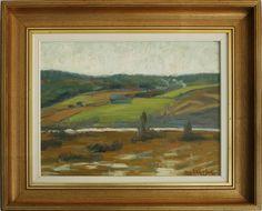 Galleri Skott - FRITZ KÄRFVE (1880-1967), olja på pannå